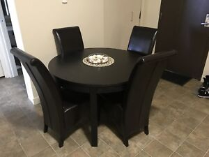 IKEA Round Table & Chairs