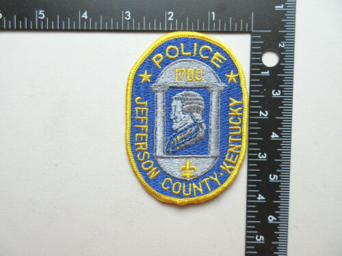 JEFFERSON COUNTY KENTUCKY POLICE COLLECTIBLE PATCH