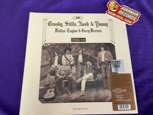 Crosby Stills Nash Young Deja Vu Alternates RSD 2021 NEW LP Piranha Records