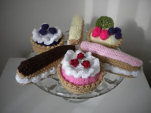 knitted cup cakes 6 Tea time treats