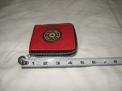 kipling zip around wallet