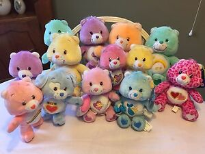 Care Bears Plush Collectibles -Excellent Condition