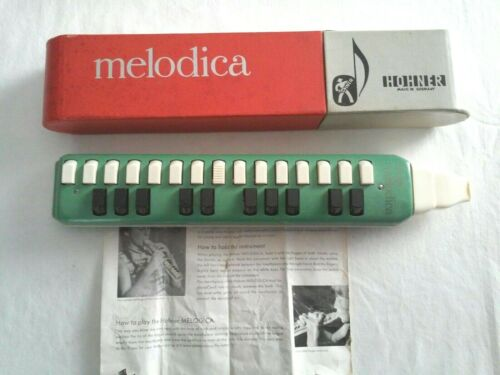 MELODICA MUSICAL INSTRUMENT WITH CASE & INSTRUCTIONS -  by HOHNER GERMANY