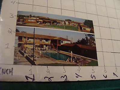 Vintage Paper item: unused WESTERN HILLS MOTOR HOTEL colorado springs colo. PC