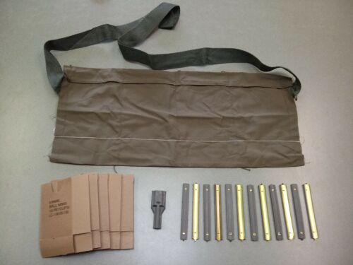 Bandolier Repack Kit  5.56 .223 Stripper Clips Cardboard Inserts Mag Guide USGI
