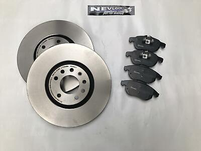 FORD COUGAR 2.0 1998-2002 FRONT 2 BRAKE DISCS AND PADS SET NEW