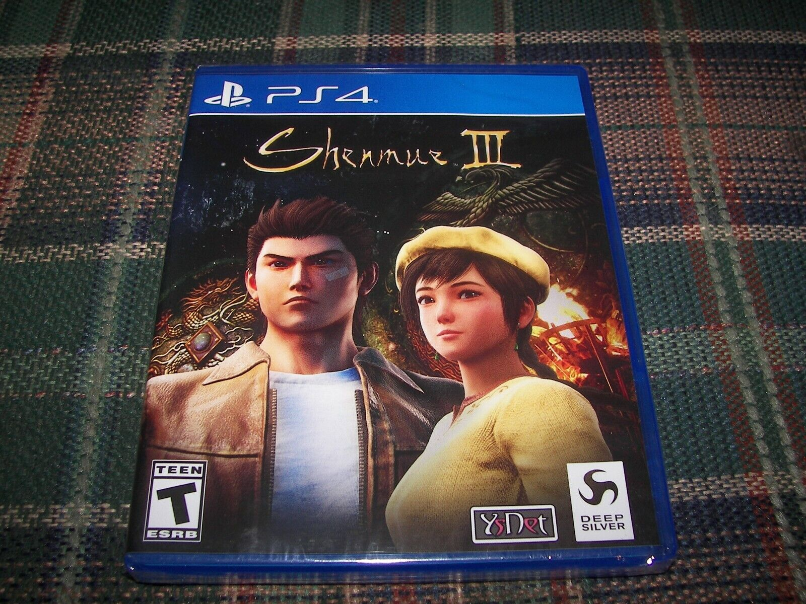 Shenmue III 3 Sony PlayStation 4 PS4 Game BRAND NEW  - $9.99