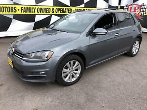 2015 Volkswagen Golf Highline, Manual, Leather, Sunroof,