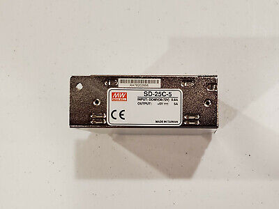 Mean Well Sd-25c-5 Power Supply Dc To Dc 48 To 5v