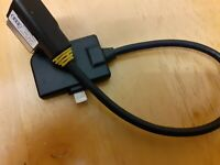 VW EOS lightning cable connection Media In adapter VW MDI iPod iPhone lead