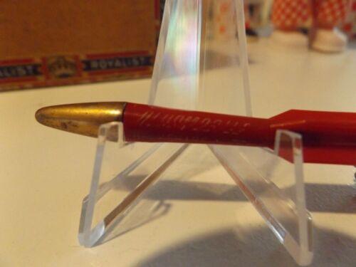 "Vintage 3"" Oldsmobile Keychain Rocket BERKSHIRE AUTO PITTSFIELD MASS. Pencil"