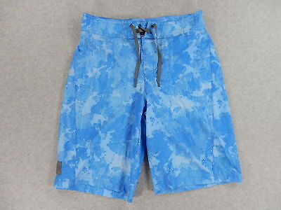 0d1ff6a072 Under Armour HEAT GEAR Loose Fit Swim Board Shorts (Youth 28) Blue