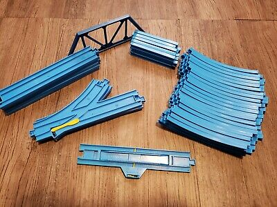 35 Tomy Thomas Train Tracks Steam Along Replacement Track Extra Blue Pieces