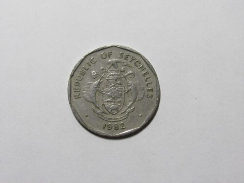 Seychelles Coin - 1982 5 Rupees - Circulated