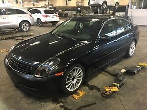 2004 Infiniti G35 sedan 6speed manual