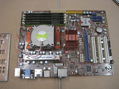 MSI board  KA780G-MS7551|AMD Opteron QUAD core 1356|8 GB DDR2 Ram |k041|1356flac