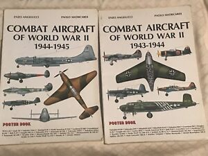 Vintage Combat Aircraft Of The World War II Poster Books