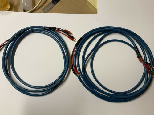 Pair Of Tributaries SP6BW By 14 AWG X 4 OHC Speaker Cables, 1 X 10ft, 1 X 18ft - $100.00