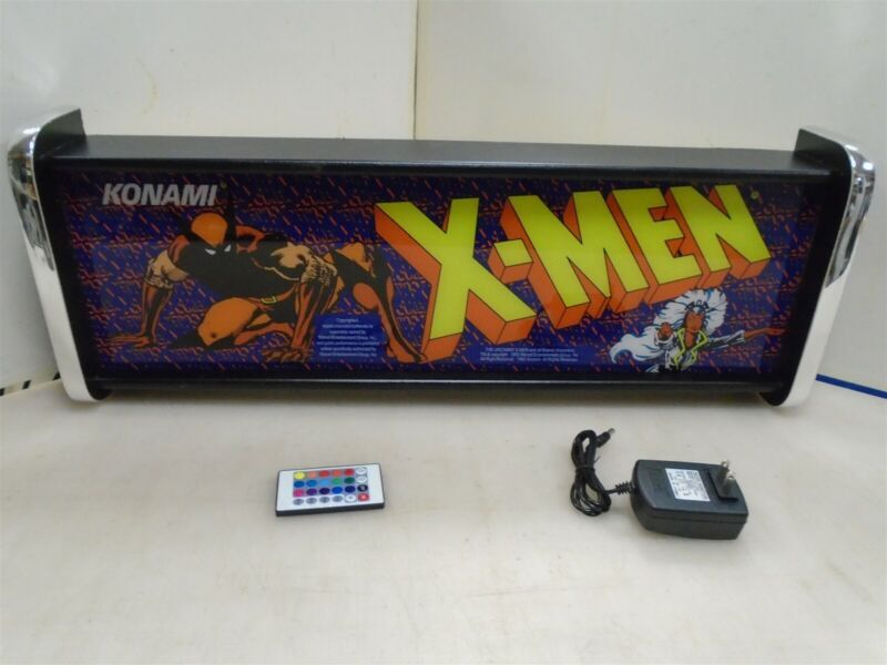 X Men Marquee Game/Rec Room LED Display light box
