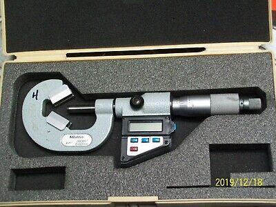314-712-10 Mitutoyo V-anvil Micrometer .4-1 4