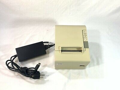 Epson Tm-t88iv Thermal Pos Receipt Printer With Power Cable M129h Ethernet