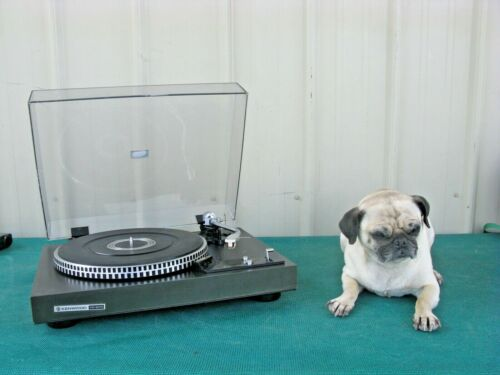 Vintage Kenwood Direct Drive Turntable KD-2070 Record Player