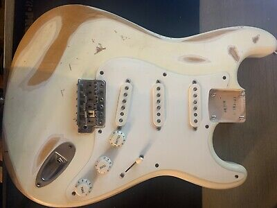 1998 MIJ 50's Reissue Fender Stratocaster Loaded Body Relic job Pls Read