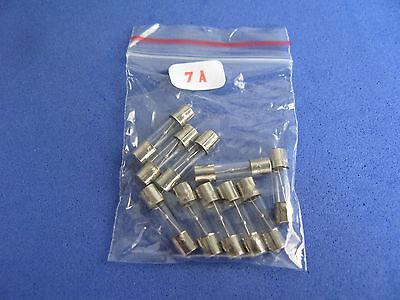 Slow Blow Glass Tube Fuse Assorted Kit 5x20mm 11 Value Total 110pcs Assortment