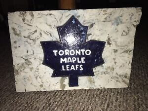 Engraved Toronto Maple Leafs Marble Slab