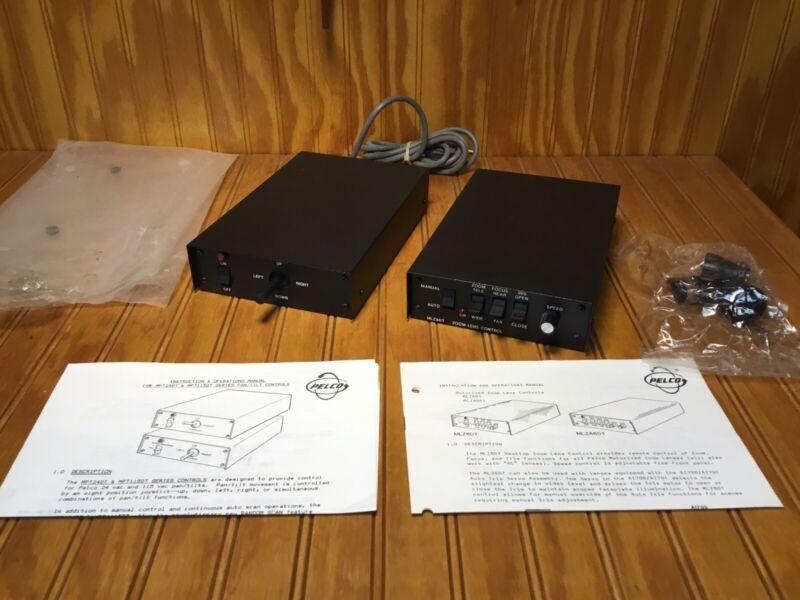 New - Pelco MPT24DT Joystick Control  & MLZ6DT Zoom Contol Modules