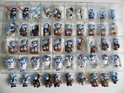 50 Stück Ü-Ei Figuren  Star Wars Das Hipperium spielt verrückt 2002