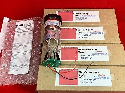Hamamatsu R980 Pmt W120 Megohm Voltage Divider Photomultiplier Tube 1-12 38mm
