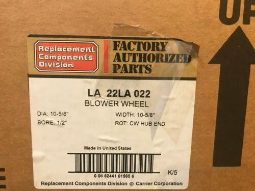 LA22LA022 Carrier Blower Wheel