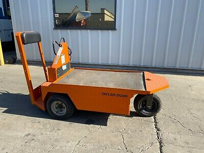 Taylor Dunn Sc1-59 Electric Stock Chaser Warehouse Cart 24v