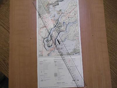 Volkspolizei Korrekturvorlage Karte Feldberg Reg. 304/70 MdI