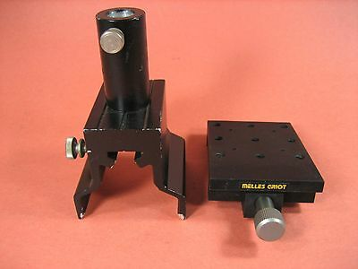 Melles Griot - Optical Mounting Bracket And Pole Clamp