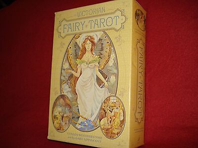 Victorian Fairy Tarot Card Set - Beautiful Fortune Telling Cards and Guide
