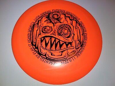 Halloween-disc-golf (New 2014 Innova DX Teebird Pumpkin Halloween Disc Golf 175g)