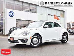 2017 Volkswagen Beetle Classic 1.8T 6sp at w/Tip Traded/LOW KMS