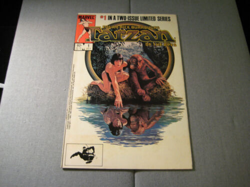 Tarzan Of The Apes #1 (1st Of Two Limited Issue) (1984, Marvel)