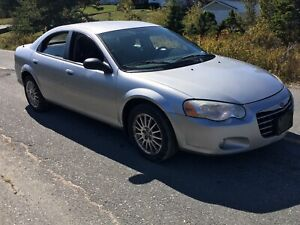 2006 Chrysler Sebring 2.7 100,000 kms  needs nothing inspected