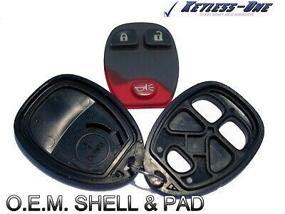 07-14 GM KEYLESS ENTRY REMOTE OEM KEY FOB SHELL GM/O 15913420 2 BUTTON PAD