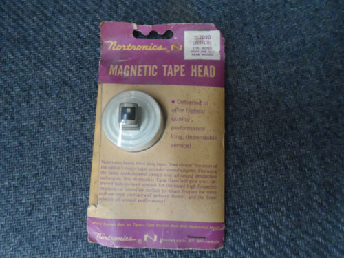 Vintage NOS Nortronics Magentic Tape Head #3050