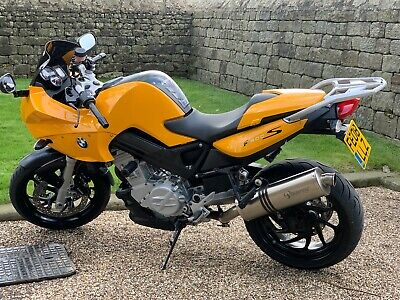 BMW F800S Sunset Yellow 2008, Great condition & History, Sport version of F800ST