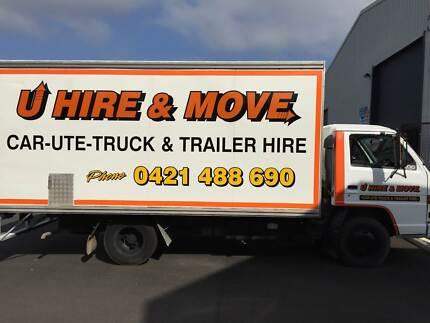 U Hire & Move - Pantech Truck Hire from $125 Per day Arana Hills Brisbane North West Preview