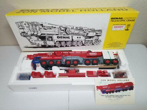 Demag AC1600 Mobile Crane - Brandt - Zon Models 1:50 Scale Model #9701 New!