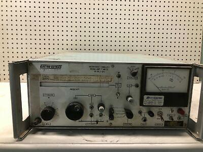 Vintage Electro Metrics Interference Analyzer Model Emc-25 Mk Iii 10khz-1ghz