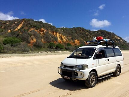 1994 long wheel base Mitsubishi Delica