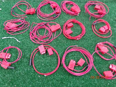 13 Motorola Maxtrac Gm300 M120 Mobile Radio Ignition Sense Fuse Holders - A61