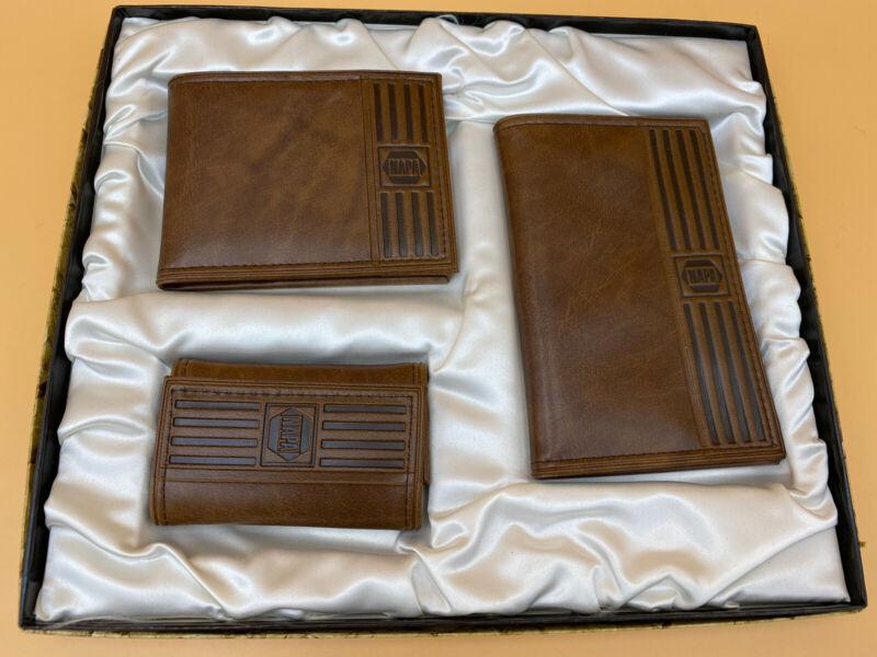 Vintage Napa Auto Parts (Denver) 3 Piece Wallet Gift Set